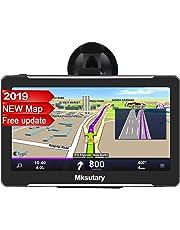 """GPS Auto Moto , Schermo Di Navigazione, LCD Touch Capacitivo Da 5"""", Memoria RAM Da 256 MB, ROM Da 8 GB, Mappa GPS Di 51 Paesi"""
