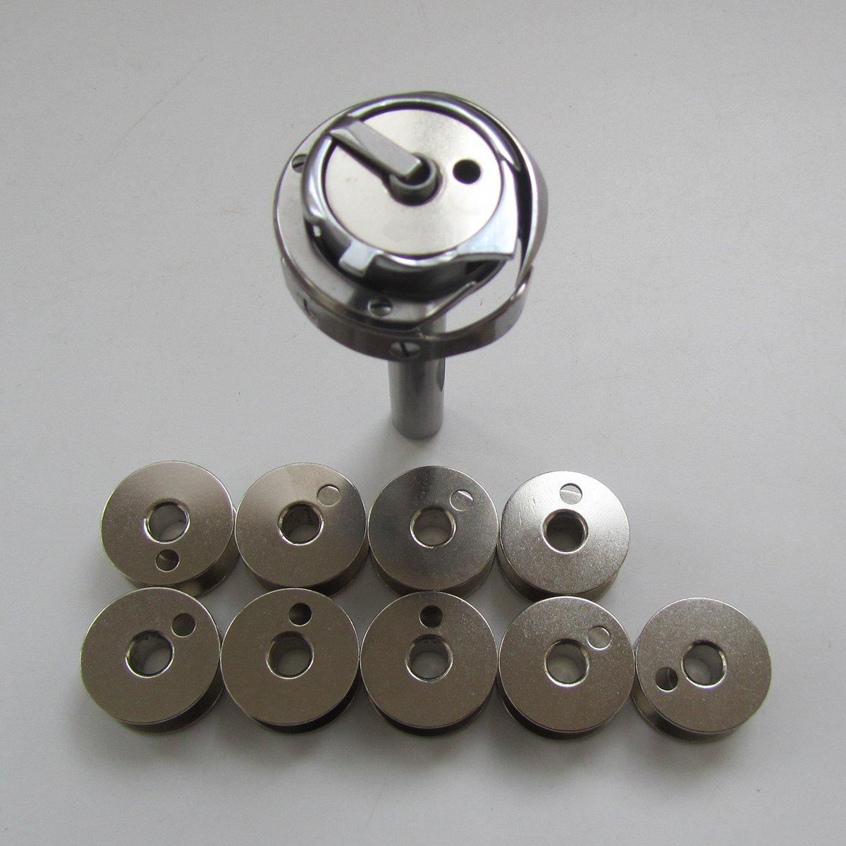 1PCS #HSH-11-55 Hook fit for Singer 111W155 CONSEW 224 225 226 JUKI LU-562 Seiko Sewing Machines CKPSMS Brand HSH-11-55