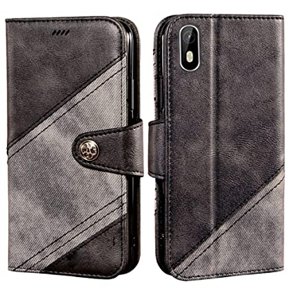 Amazon.com: Case for Cubot J5, Leather Stand Wallet Flip ...