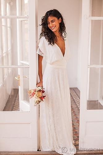 Amazon boho wedding dress bohemian wedding dress bohemian boho wedding dress bohemian wedding dress bohemian lace wedding dress lace wedding dresses junglespirit Image collections