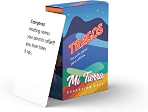 Tragos Party Game for Latinos - Relatable Funny Drinking Card Game for Adults - Juegos De Mesa Para Adultos (Expansion Pack)
