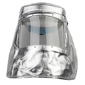 Aluminiumfolie Hochtemperatur-Isolierung 1000 Grad Maske Headset ...