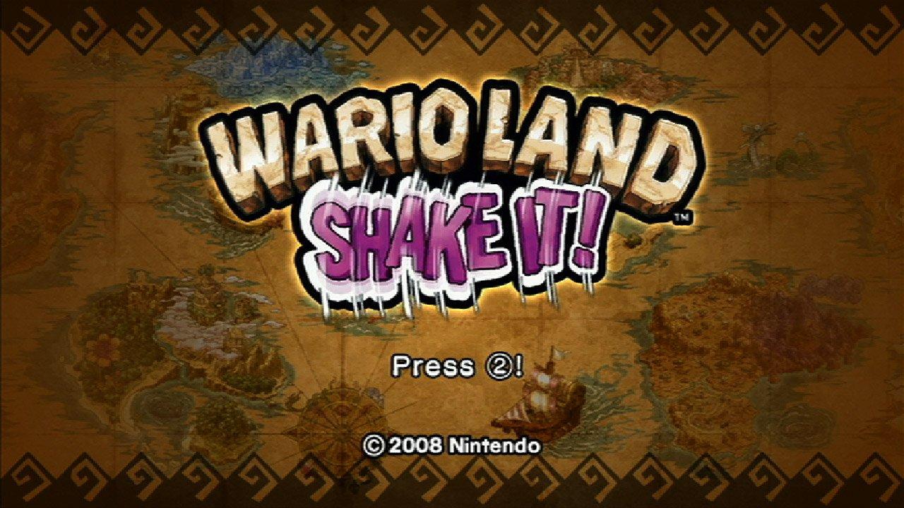 Wii Wario Land Shake It - Wii U [Digital Code]