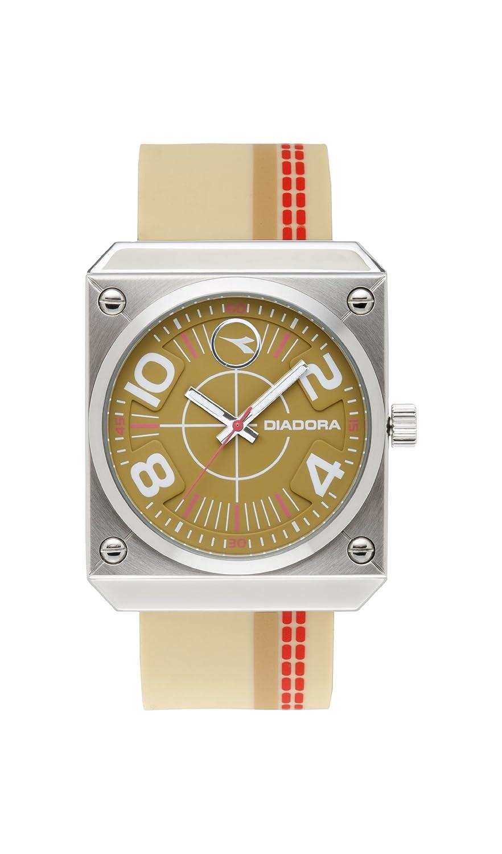 Diadora Herren-Armbanduhr Analog Quarz Edelstahl DI-011-01