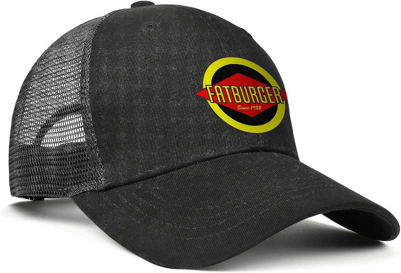 WintyHC Fatburger-Logo Cowboy Hat Trucker Hat Adjustable Fits Gas Cap