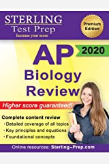 Sterling Test Prep AP Biology Review: Complete Content Review Paperback