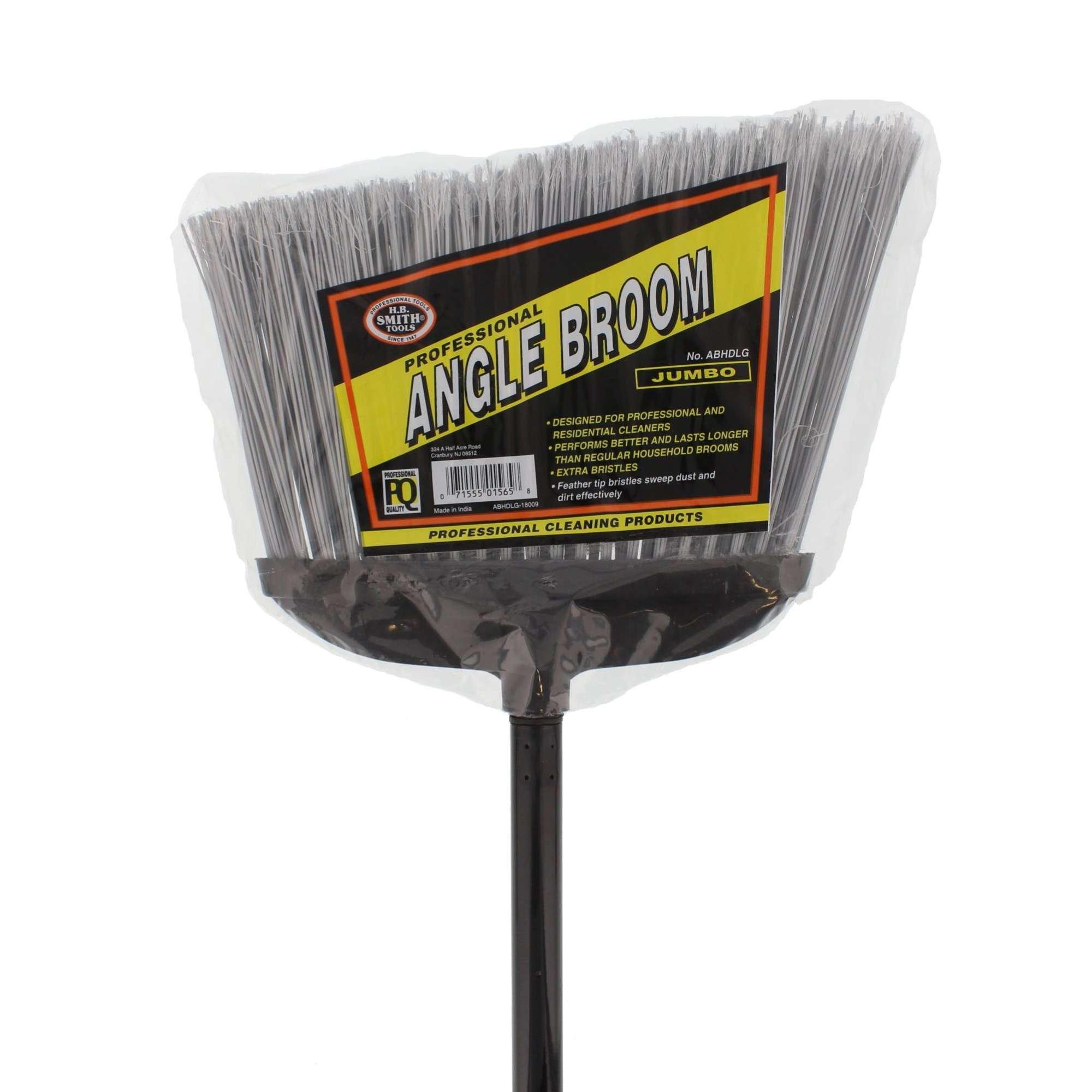 H.B. Smith Jumbo Heavy Duty Professional Angle Broom, 57''