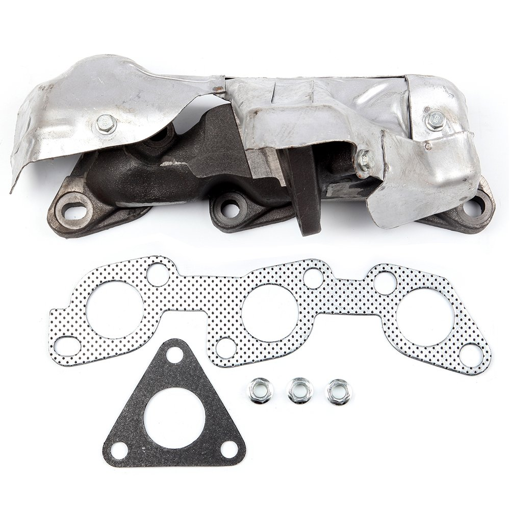 FINDAUTO Exhaust Manifold Fit for 1999-2004 Nissan Frontier 2000-2004 Nissan Xterra