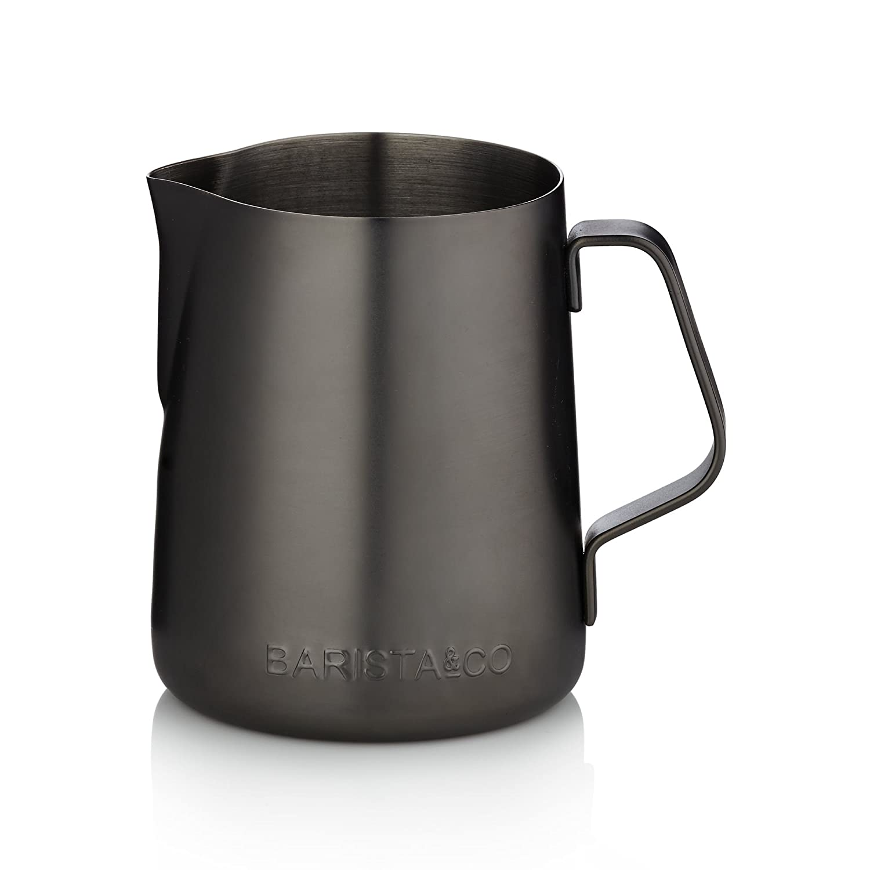 Barista and Co Milk Jug in Midnight Black