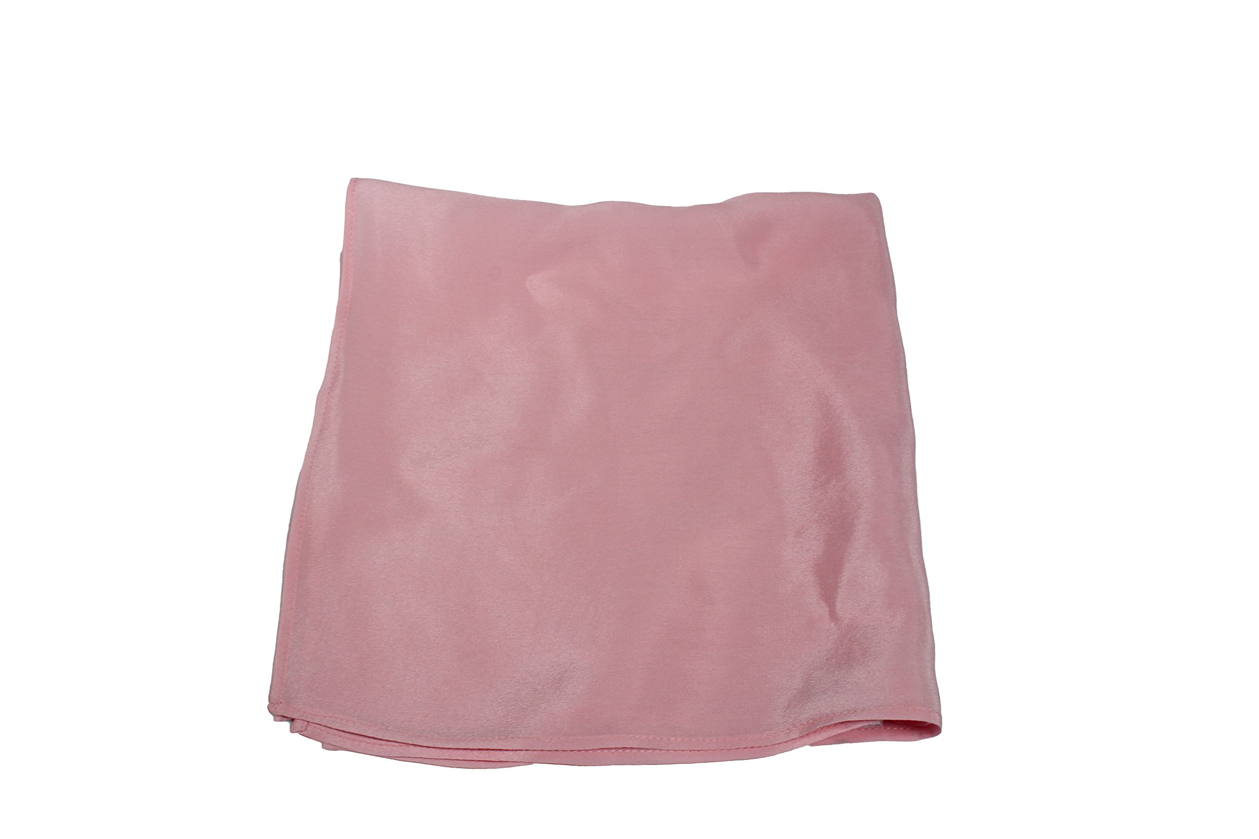 Fine Pink Silk Pocket Square - Full-Sized 16''x16'' by Royal Silk (Image #7)