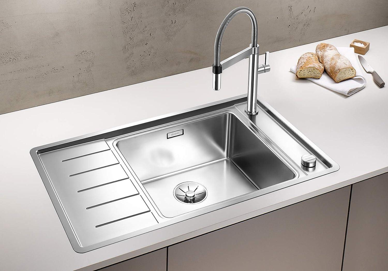 Blanco 523002/andano XL 6/S de If Compact 6/S Cocina sp/ül eedel Acero seda brillo acero inoxidable