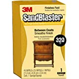 3M SandBlaster Dual Angle Sanding Sponge, 320-Grit, 2.625-Inch by 4.5-Inch