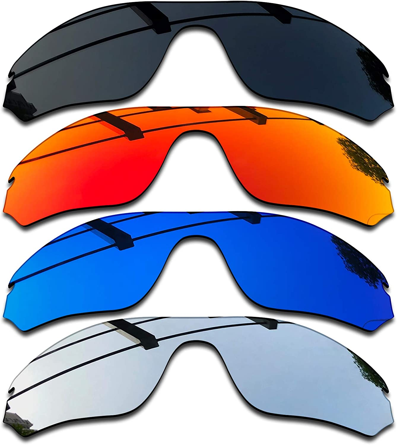 NEW before selling SEEABLE Award Premium Polarized Mirror Replacement R for Oakley Lenses