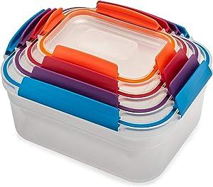 Joseph Joseph 81090 Nest Lock 4-Piece Storage Container Set - Multi-Colour