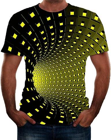 K-Youth Camiseta Hombre Navidad Ropa Adolescentes Chico Casual Negra T Shirt Chandal Camisetas Manga Corta Hombre Deporte Camisas Hombres Tallas Grandes Blusa Hombre Navideños Top: Amazon.es: Ropa y accesorios