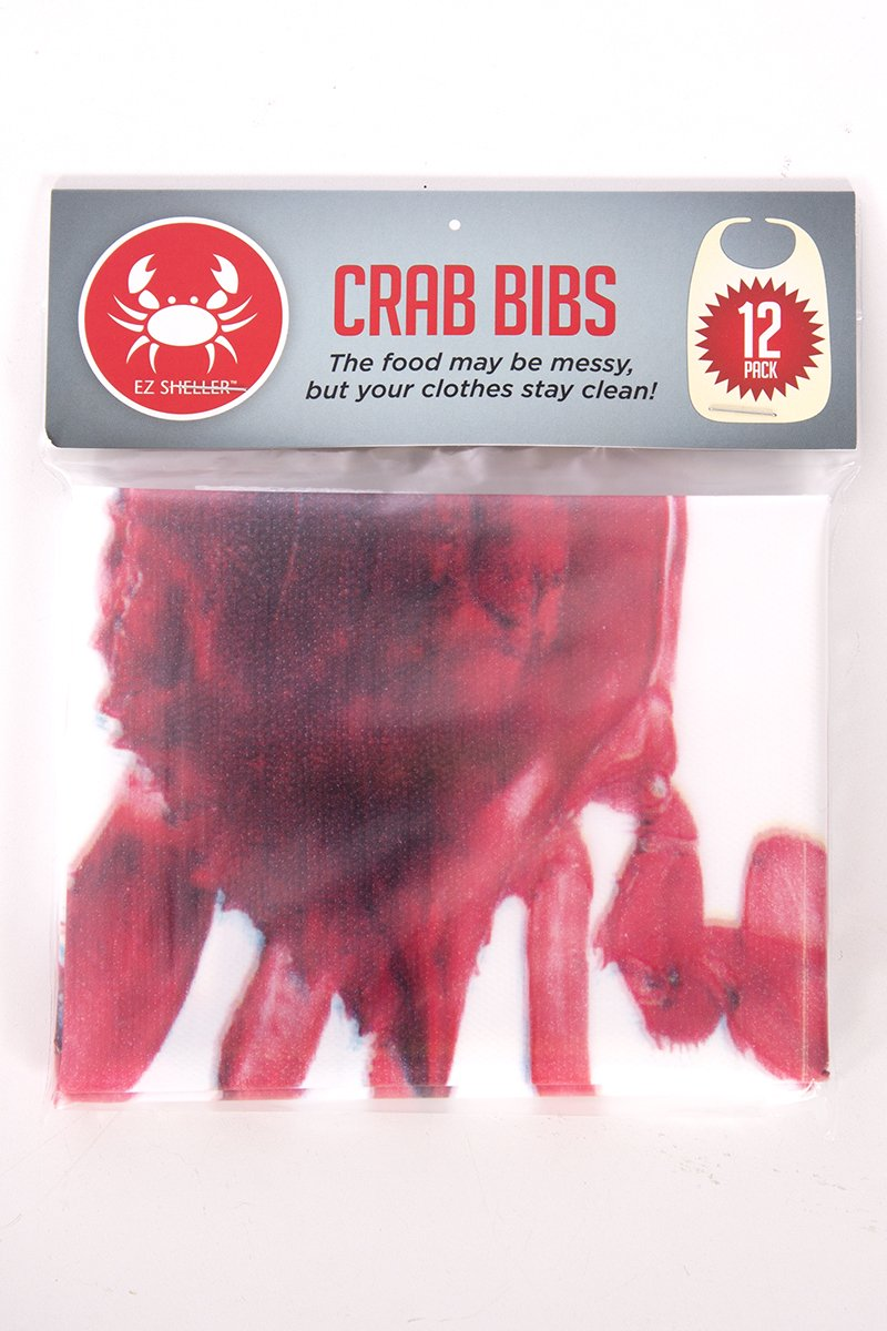 Amazon.com: 12 Pack Disposable Crab Bibs: Kitchen & Dining