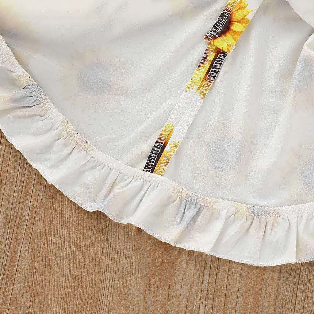 Toddler Girl Sunflower Dress