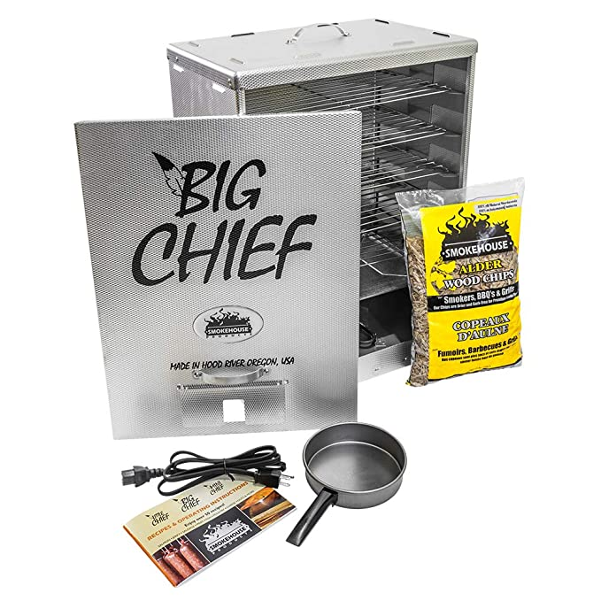 Smokehouse Products Big Chief Front Load Smoker – The Best Electric Smoker for Beginners