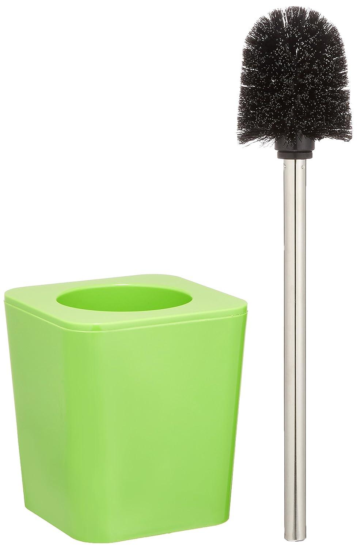 Wenko 20326100 Support Brosse Candy Vert Porte-brosse WC; WC; Porte-brosse; Porte-brosse WC; Toilette; Brosses WC; Ensemble WC; Ensemble sur pied; Porte-brosse; Accessoires de salle de bain
