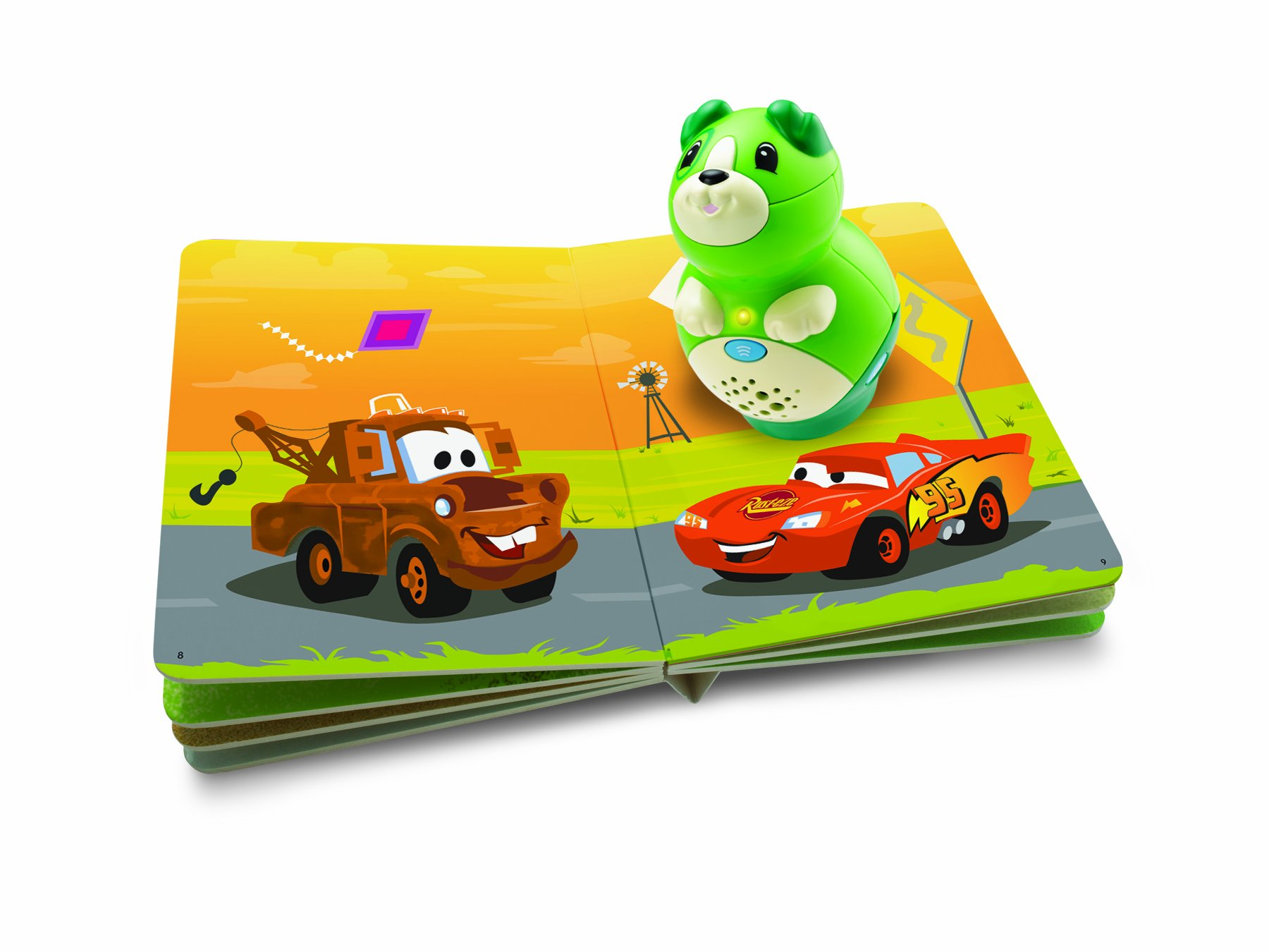 LeapFrog Tag Junior Book Cars Shapes All Around (works with LeapReader Junior) by LeapFrog (Image #2)