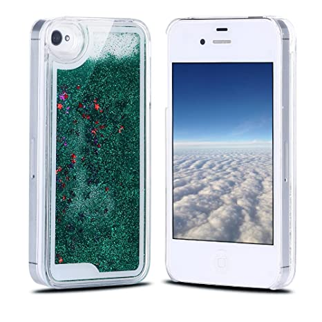 Funda iPhone 4, Carcasa iPhone 4S, RosyHeart Sparkle Brillar ...
