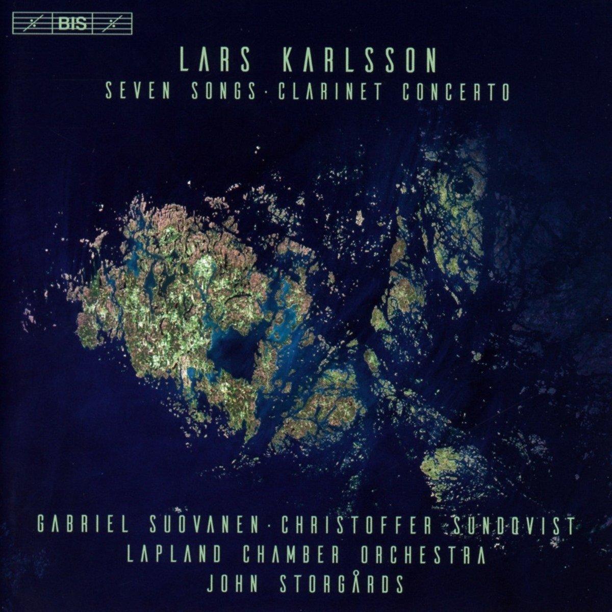 SACD : Suovanen - Gabriel - Lapland Chamber Orchestra - Storgårds - John - Sundqvist - Christoffer - Seven Songs & Clarinet Concerto (Hybrid SACD)