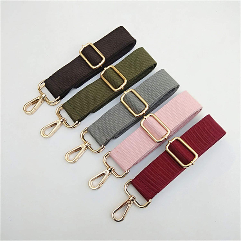 Amazon.com: Canvas Bag Strap Adjustable Versatile Bag Strap ...