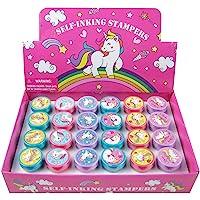 Tiny Mills 24 Pcs Unicorn Stampers for Kids