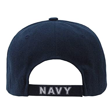 2663bed587f Rapid Dominance US Navy Text Embroidered Military Baseball Cap Hat  Amazon. ca  Clothing   Accessories