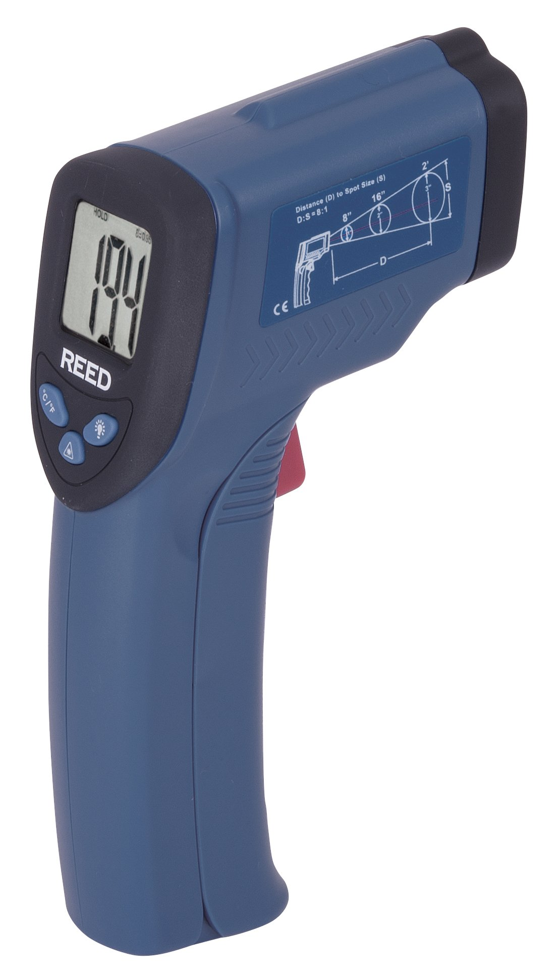 REED Instruments R2001 Infrared Thermometer, 8:1, 536°F (280°C)