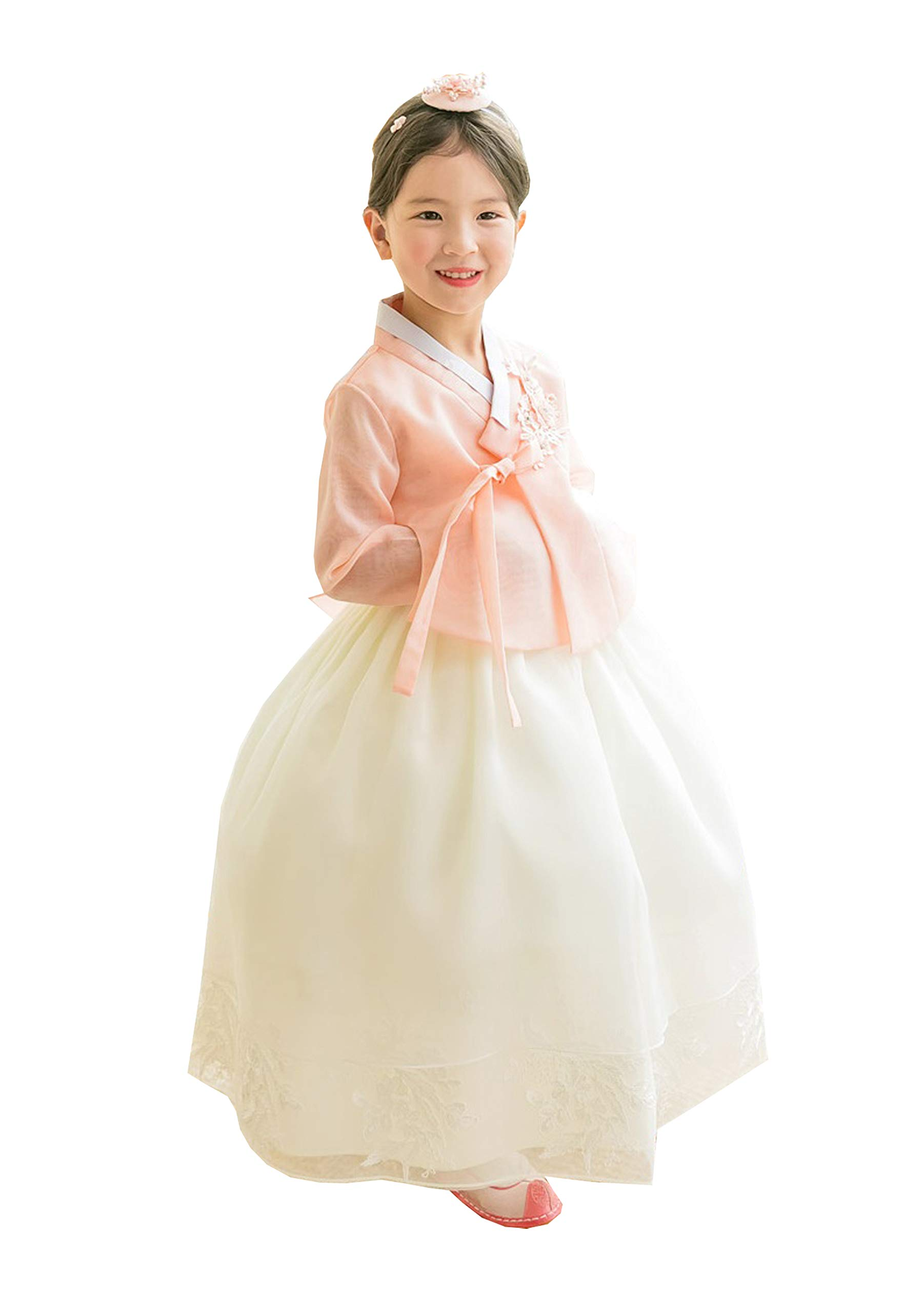 First birthday hanbok dress Korea traditional baby girl clothing Dohl Dolbok 1 age party wedding 6 Items Baby Green Skirt