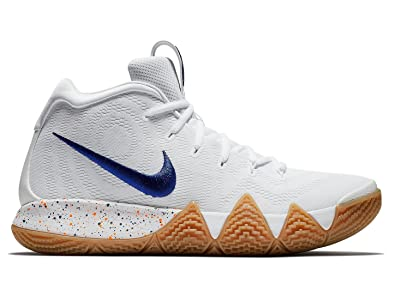b7be49380b2 Image Unavailable. Image not available for. Color  Nike Kyrie 4 Mens  943806-100 ...