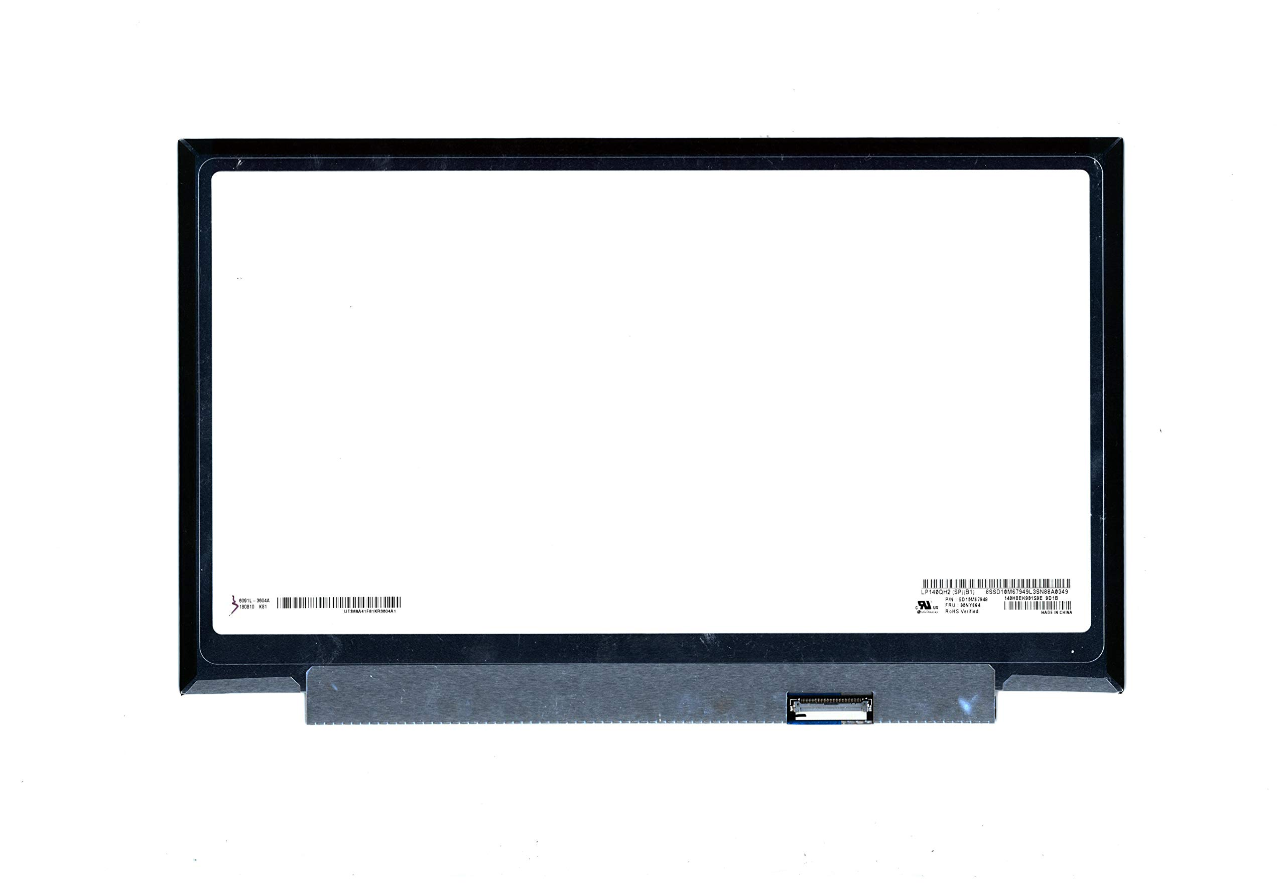 New Replacement 14'' WQHD (2560x1440) LCD Screen IPS LED Display LP140QH2 (SP)(B1) Non-Touch