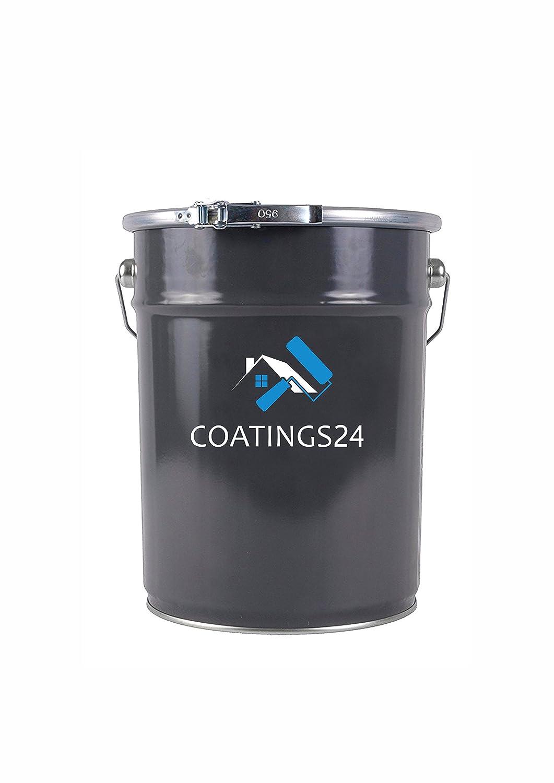 Vernice per Ferro | Antiruggine Verniciare per Metallo | Made in Germany | colore: CLEAR/TRASPARENTE - 10L COATINGS24