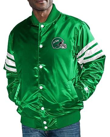 Amazon.com : STARTER York Jets NFL The Captain Premium ...