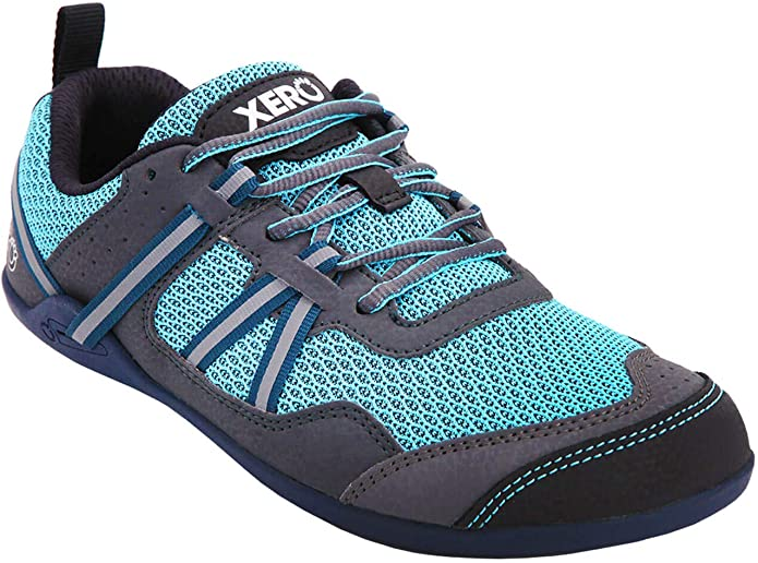 Xero Shoes Prio - Zapatillas minimalistas para correr y caminar descalzos para mujer - Fitness, Athletic Zero Drop, Azul (Robins Egg Blue), 38.5 EU: Amazon.es ...
