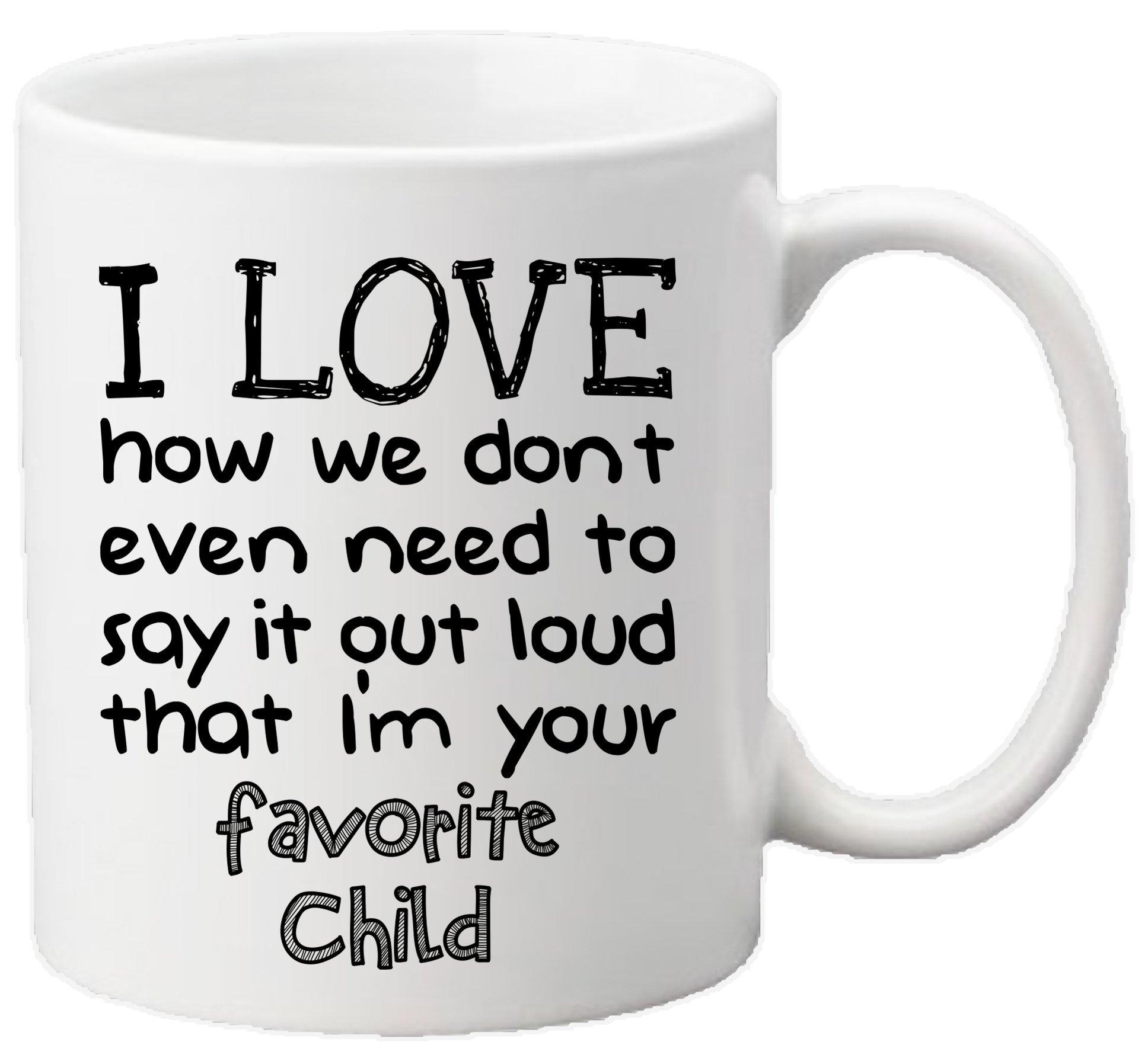 muggies favorite child 11oz funny ceramic mug unique gift for mom dad mothers