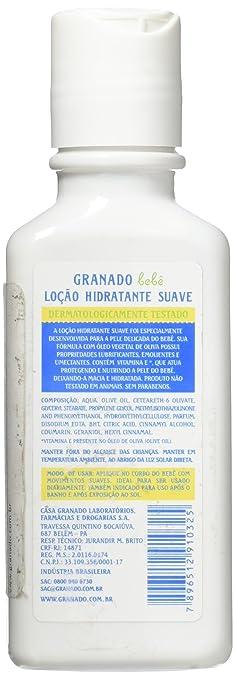 Amazon.com: Linha Bebe Granado - Locao Corporal Hidratante Tradicional 100 Ml - (Granado Baby Collection - Classic Moisturizer Body Lotion 3.4 Fl Oz): ...