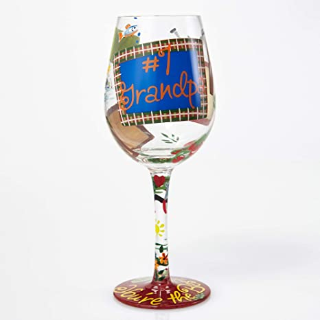 Lolita familia abridor de botella de vino de cristal con Westwood Gourmet #1 Grandpa