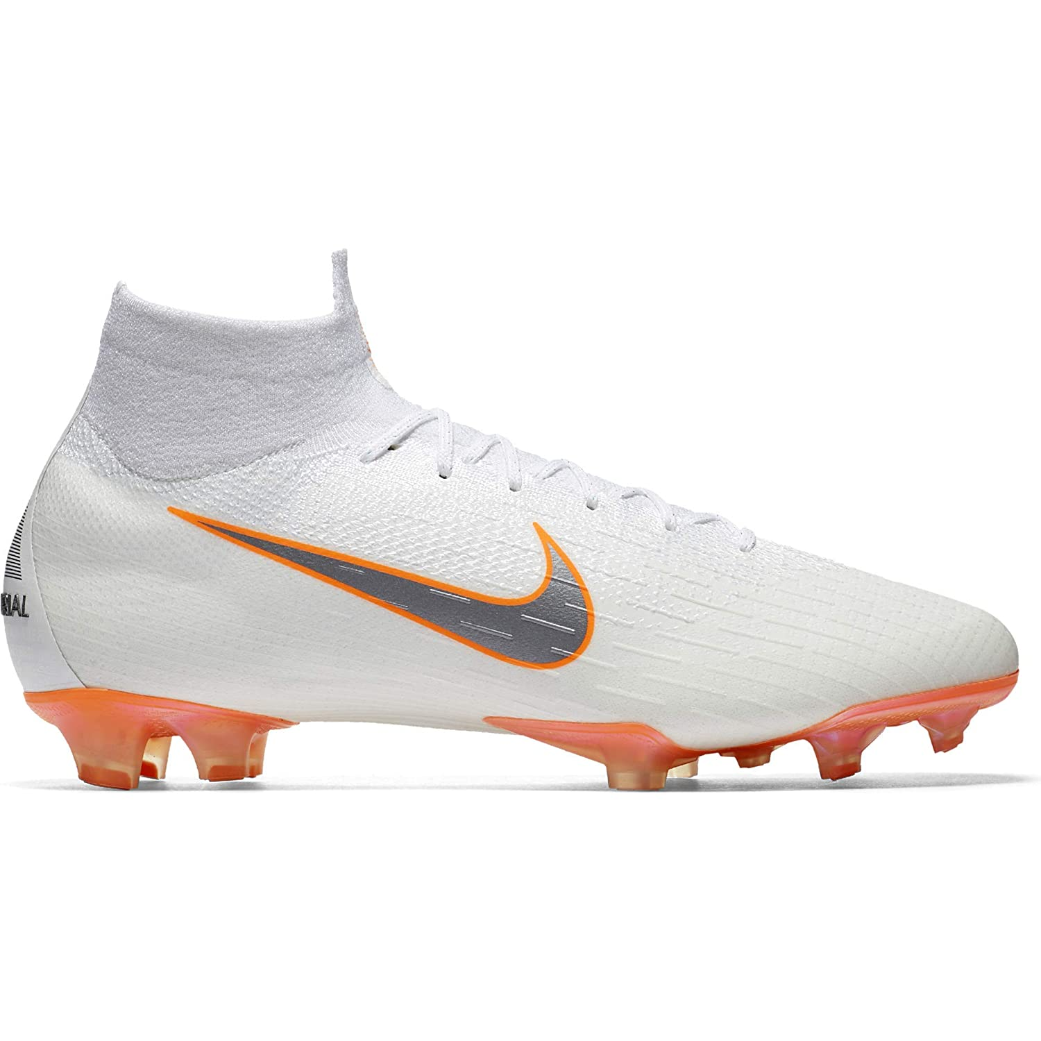 online store 34d48 dcb8c Amazon.com  Nike Mens Superfly 6 Elite FG Firm-Ground Football Boot (10 M  US) White  Soccer