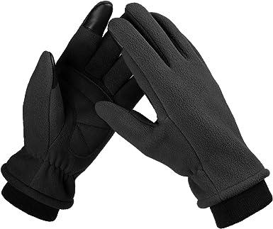 Unisex Winter Gloves Women Men Fleece Driving Bicycle Outdoor Mittens