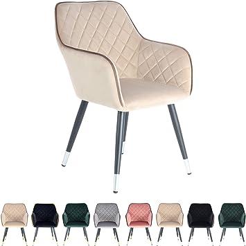One Couture Stuhl Wohnzimmer Esszimmer, Samtstoff aus 100
