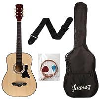 JUAREZ JRZ38C Right Handed Acoustic Guitar (Natural, 6 Strings)