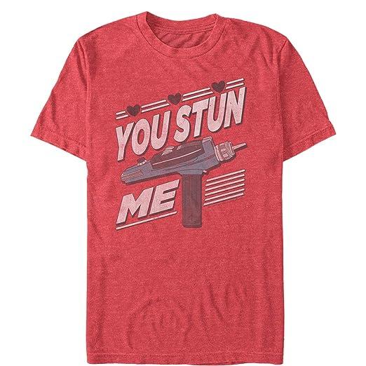361476f61 Amazon.com: Fifth Sun Star Trek Men's Valentine Stun Me T-Shirt ...