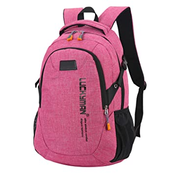 52e4d9c2bee8 Amazon.com: Laptop Travel Backpack Back Bag Canvas Large Backpacks ...