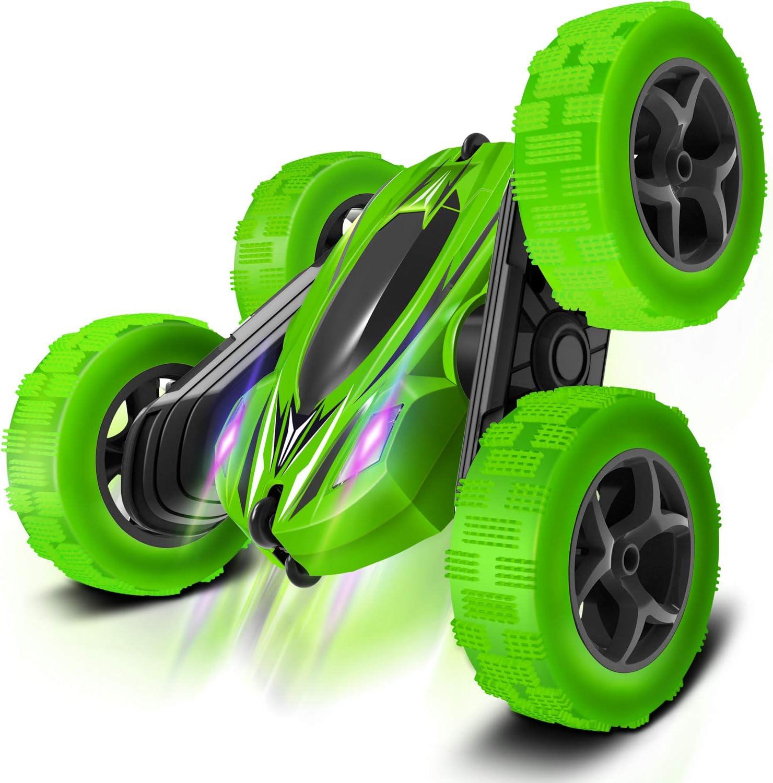 RC Cars Stunt boy Toys (Green): Toys & Games