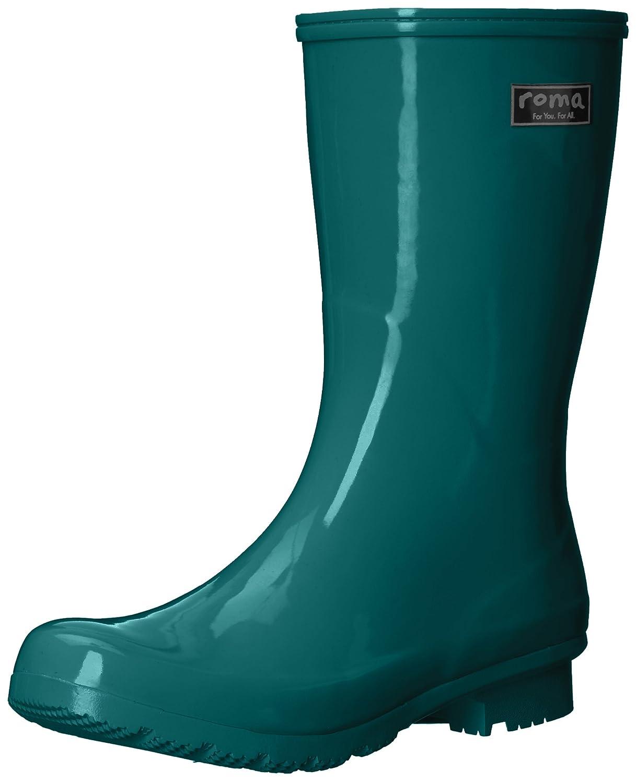 Roma Boots Women's EMMA Mid Rain Boots B0727L6F26 11 B(M) US|Teal