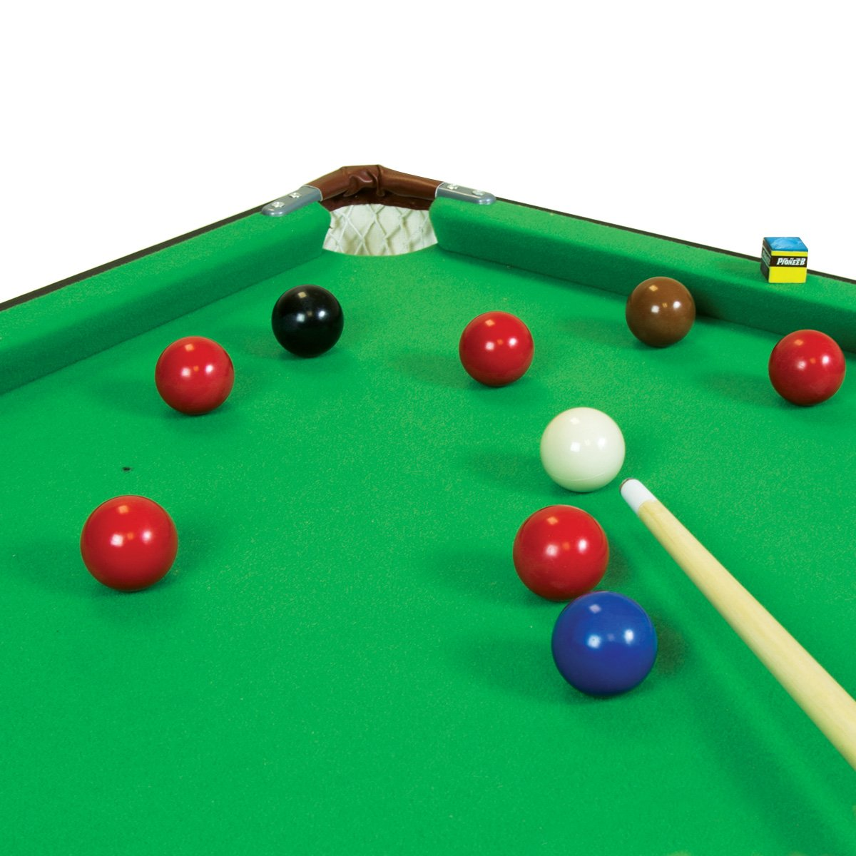 Charles Bentley 2 in 1 4Ft 6 Inch Green Snooker Games Table With ...