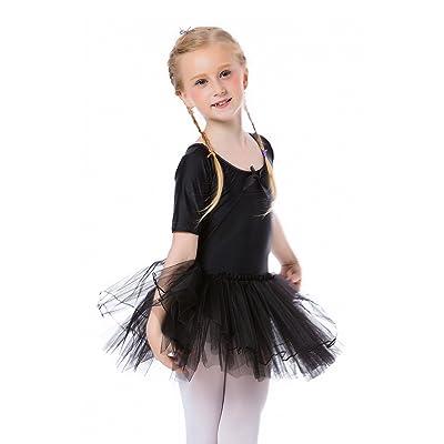 Ephex Toddler Girls Ballet Camisole Tutu Leotard Dance Dresses 2-9 Years