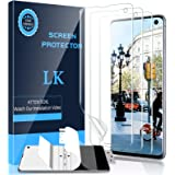 LK [3 Pack] Screen Protector for Samsung Galaxy S10, [Ultrasonic Fingerprint Compatible] [Easy Install Positioning Tool…